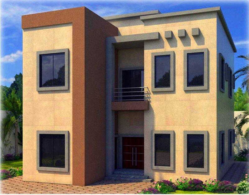 مخطط بنمط مختلف غرف النوم 4 المساحة 291.40 متر مربع عدد الطوابق أرضي - أول أبعاد البيت 12.70 م x 15.80 م   صمم بواسطة البيت للاستشارات الهندسية