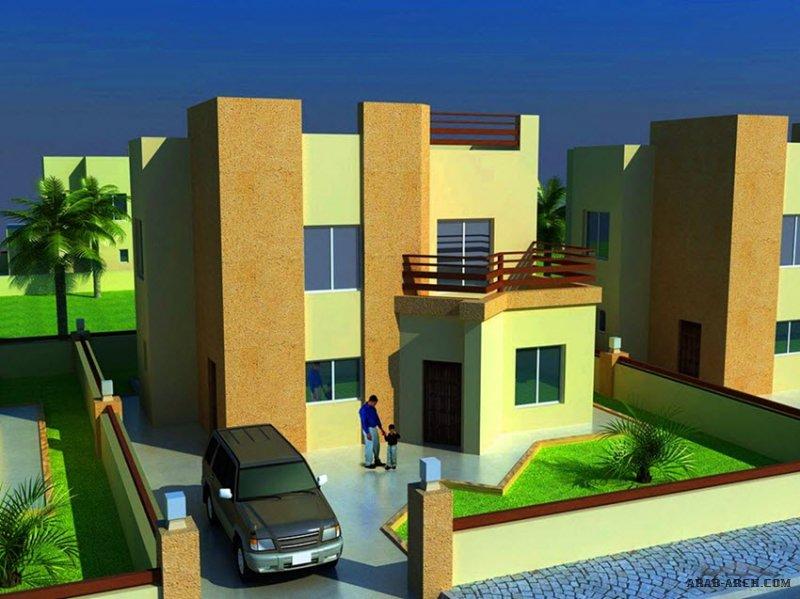 فيلا تصميم عراقي رائع  الدر الارضي 100 م2 من اعمال بلد النهرين للتصميم وادارة المشاريع