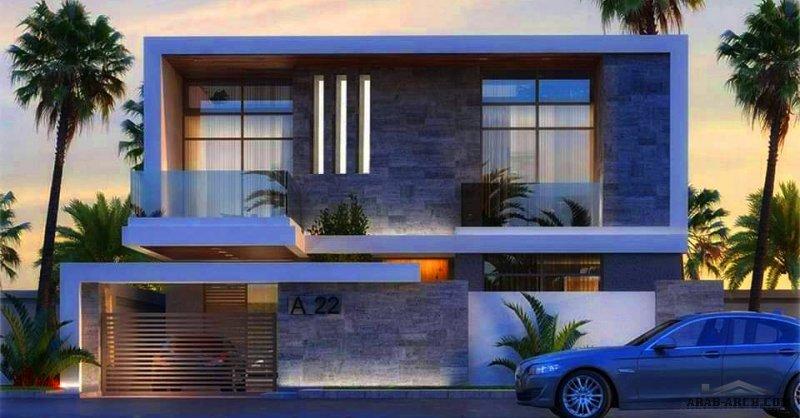 فيلا سما مساحة الارض 260 م2 تصميم عراقي مجمع الفاروق السكني