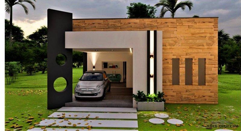 طابق واحد غرف النوم 3 مودرن تصميم حديث