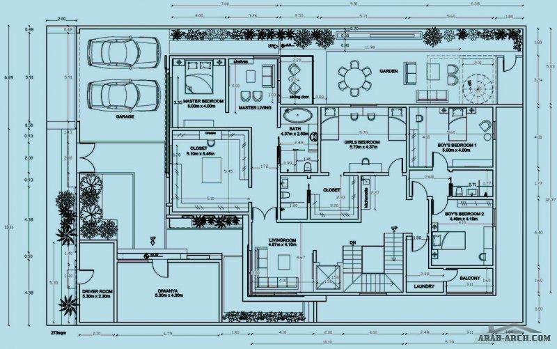 فيلا حي المهندسين الخبر تصميم سعودى مميز جداا  كاملة الرسومات المعمارى  و الانشائي - الصرف و الكهربا مساحة الارض 20  * 30 متر