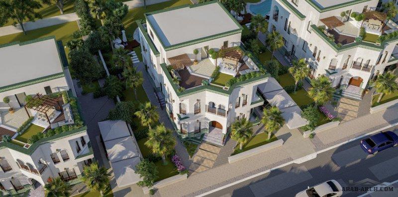 فيلا منفصلة كمبوند لافيردى العاصمة الإدارية La Verde Casette New Capital من تصميم وتنفيذ شركة لافيردى إيجبت العقارية