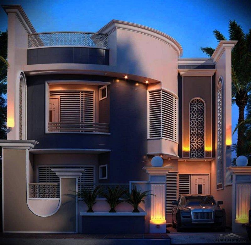 واجهات بيوت العراق روائع من مشاركات المهندس العراقي بسام أحمد