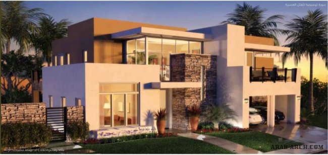 Saadiyat Island villas  + floor plans  الفيلا العصرية