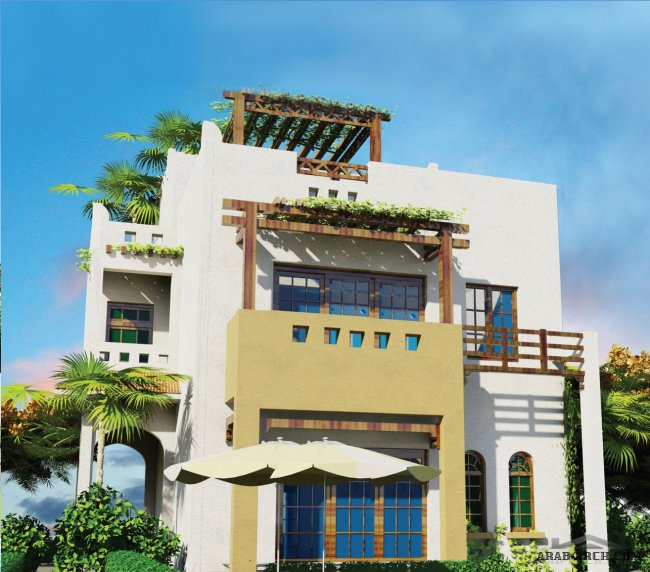 مخطط فيلا 250 متر emirates heights