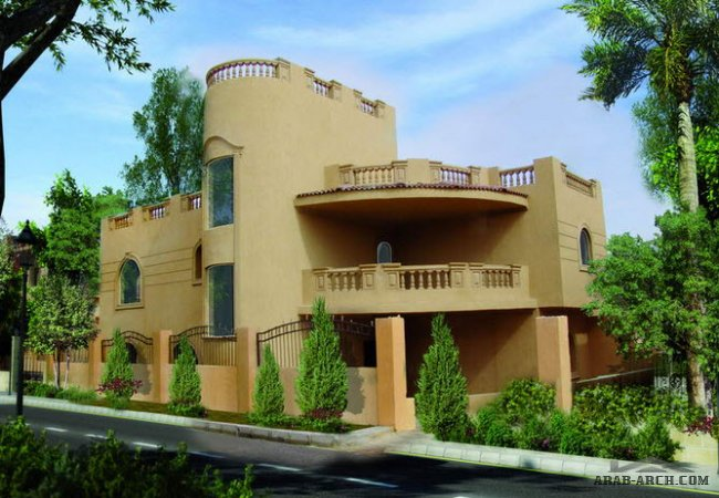 Maxim Residence Compound (Sherouk City) - VILLA Type F
