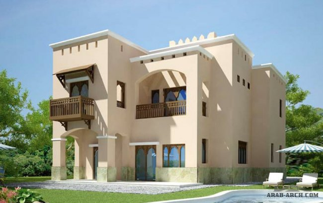 Khareef Villas floor plans Total Area: 299.59 m2