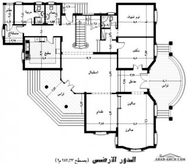 فلل مودرن بالمخطط 3d الديكور الداخلى Arab Arch: مخطط الفيلا س مدينة هليوبوليس الجديدة