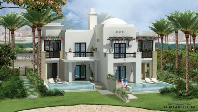 TWIN VILLA CGI - FLOOR PLANS