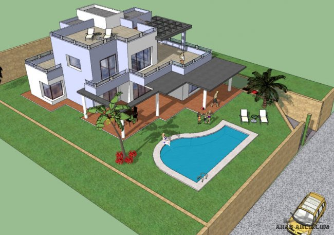 VILLA TYPE A - Total build: 274,56 m2