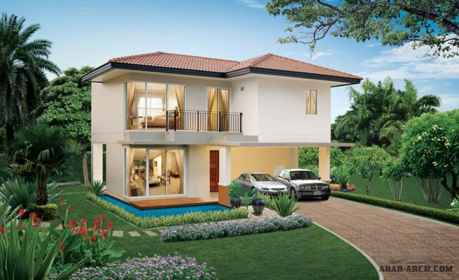 sage area 185.46 Sq.m - villa type B