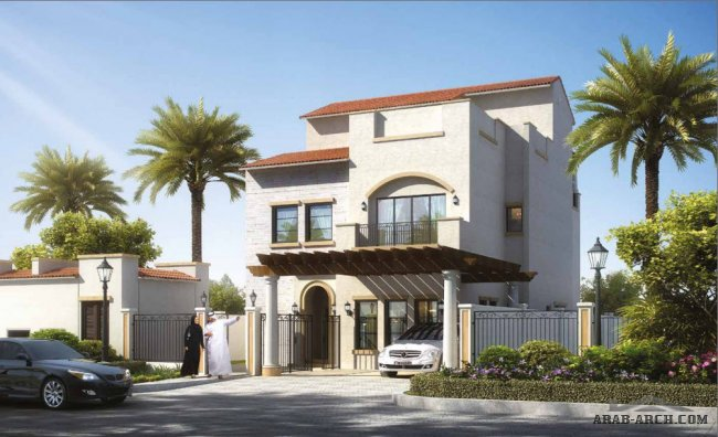 Villa Type C 5 Bedrooms + Family, G+2, Driver