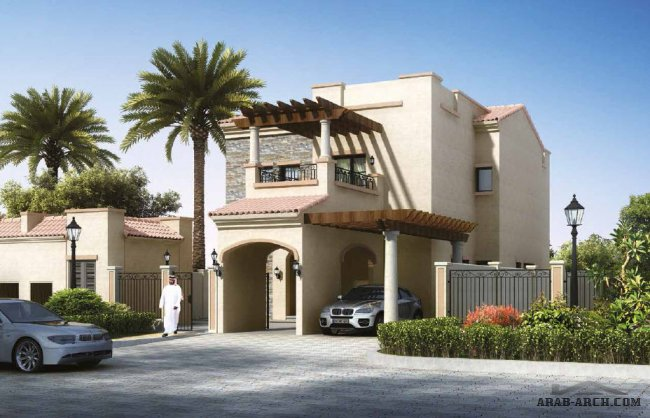 Villa Type C 5 Bedrooms + Family, G+2 + Driver