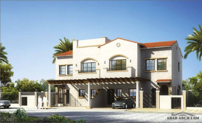 Semi Detached Villa A & B 3 Bedrooms, G+1, Semi Covered Parking