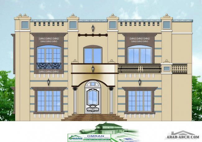 2d front design from Omran Engineering Consultancy