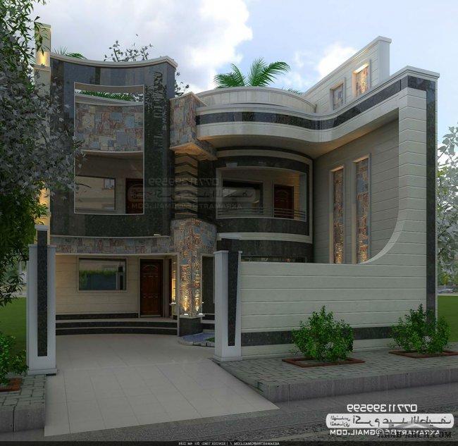 فلل مودرن بالمخطط 3d الديكور الداخلى Arab Arch: مجموعه من التصاميم المميزة للمهندس اكرم عبد اللطيف » Arab Arch