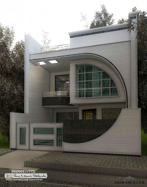 Rcc House Front Elevation : مجموعه من التصاميم المميزة للمهندس اكرم عبد اللطيف arab arch