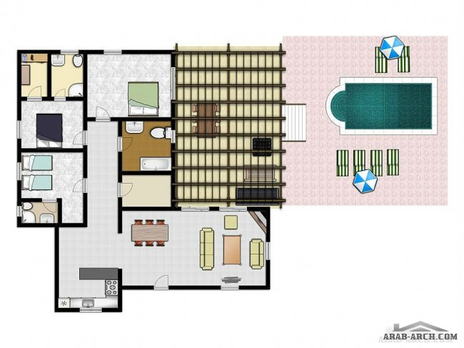 weekend villa floor plans