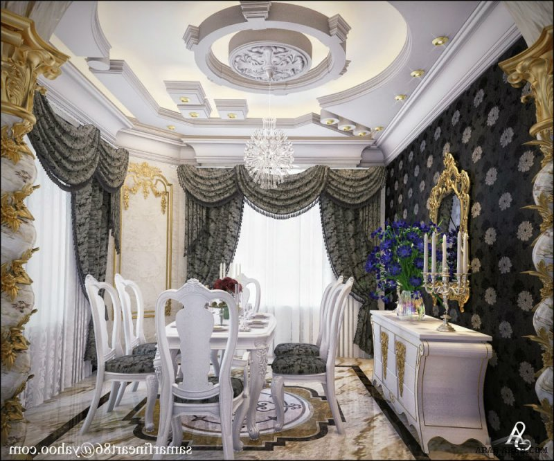 dinning room design by Summer fouad