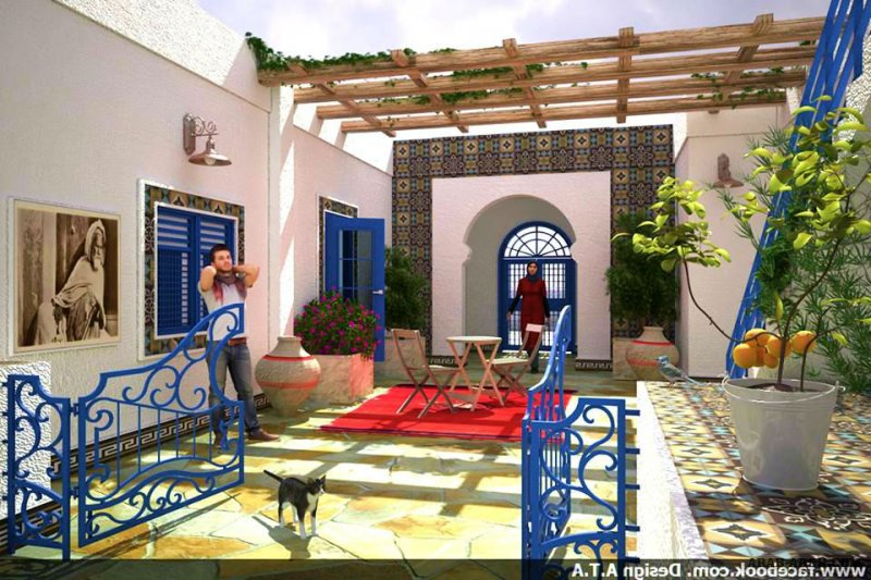 Old house from Tunisia... project Design A.T.A
